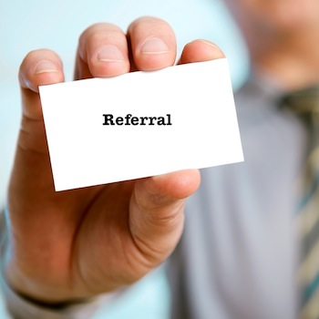 sales referral