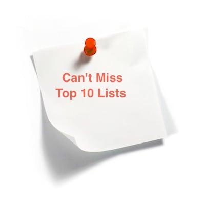 Top 10 Lists