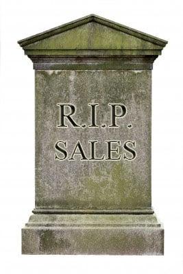 Where sales go to die