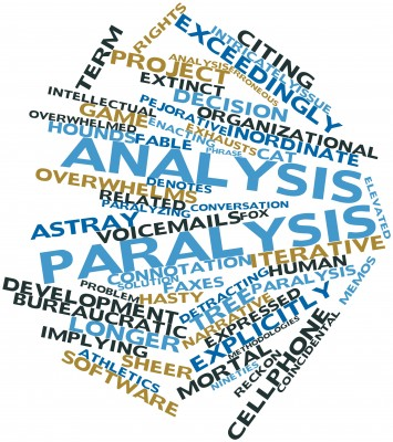 An Inbound Marketing Don't Paralysis by Analysis