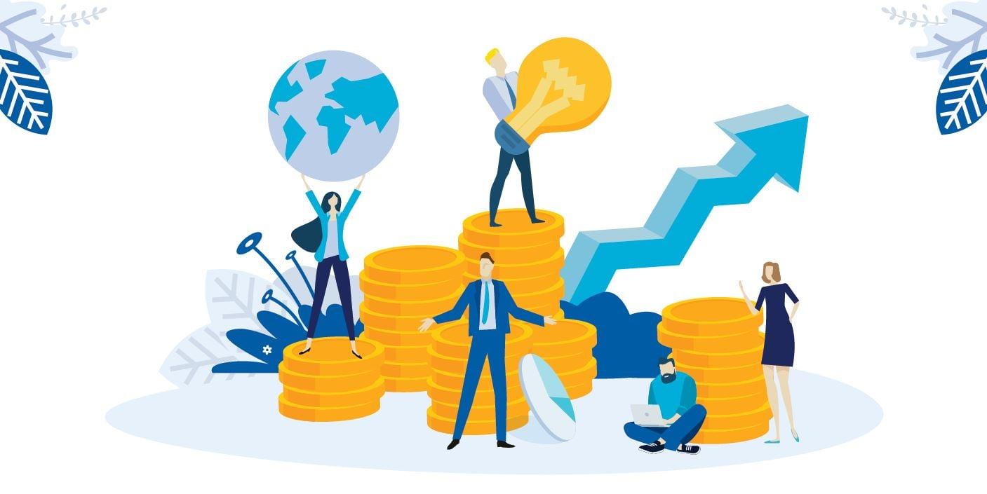2020 Media Sales Report Infographic Header