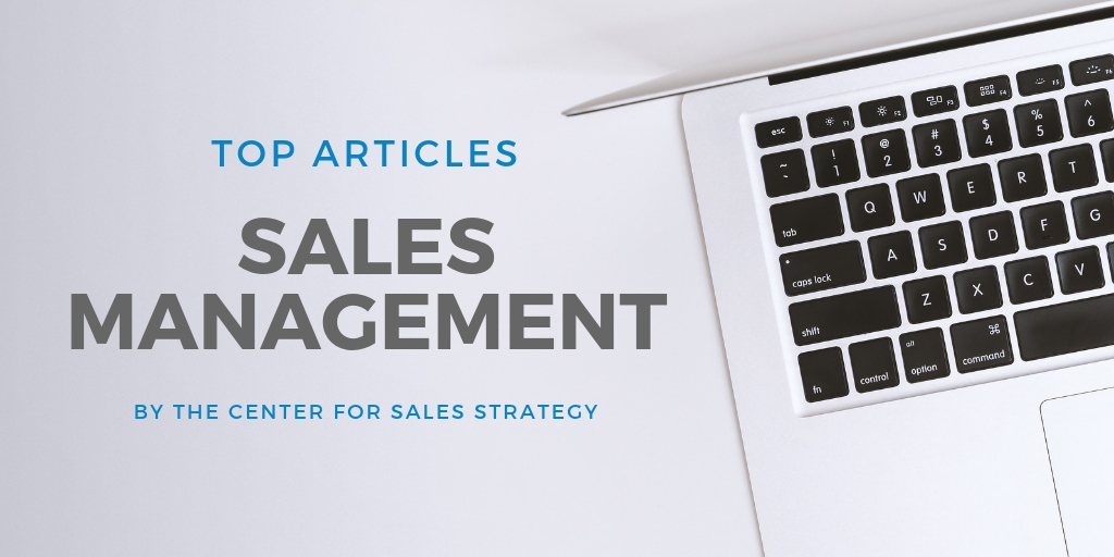 best blog posts sales management