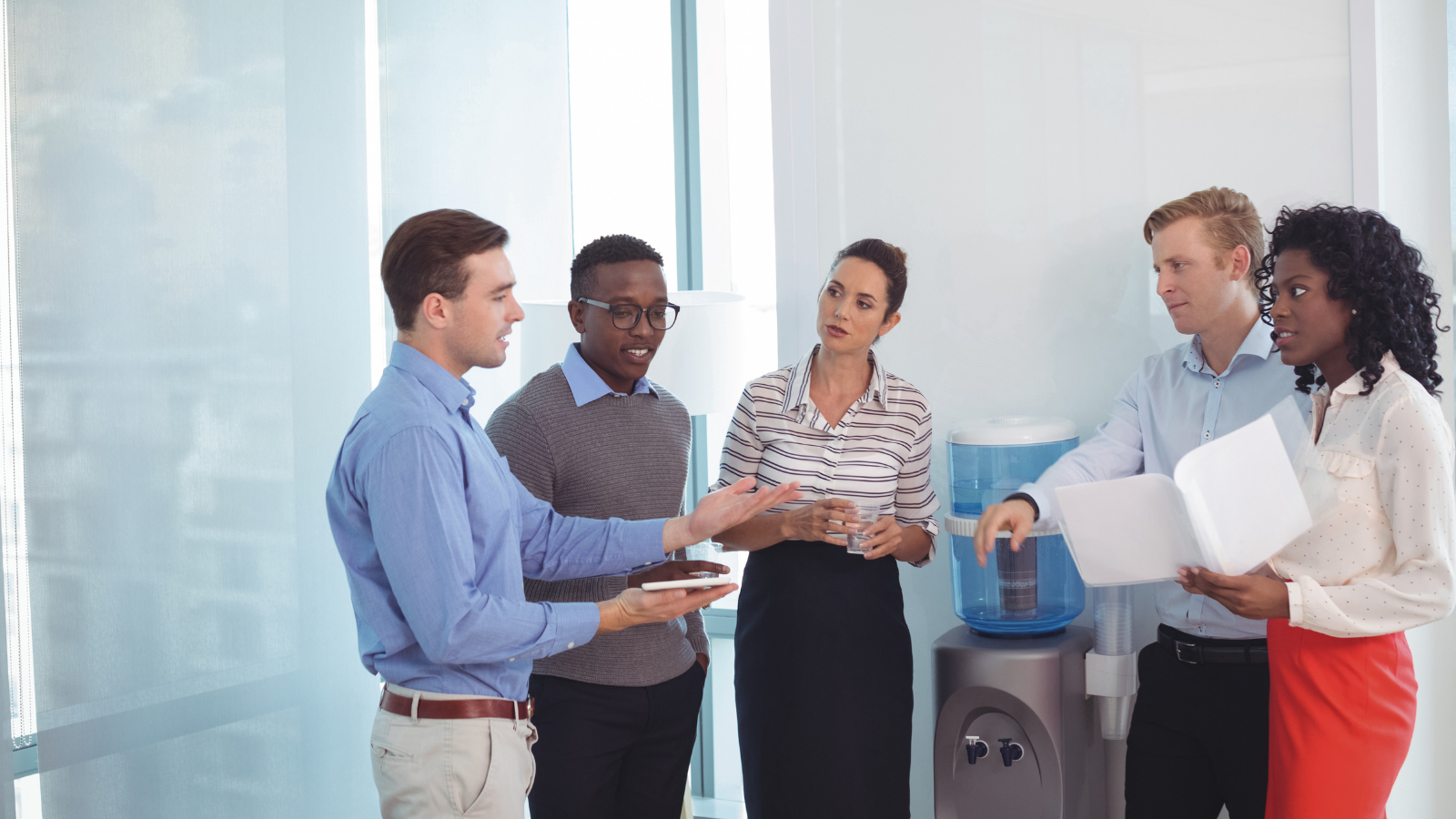 Reinvent the Office Watercooler, Whats Shaking Up Sales