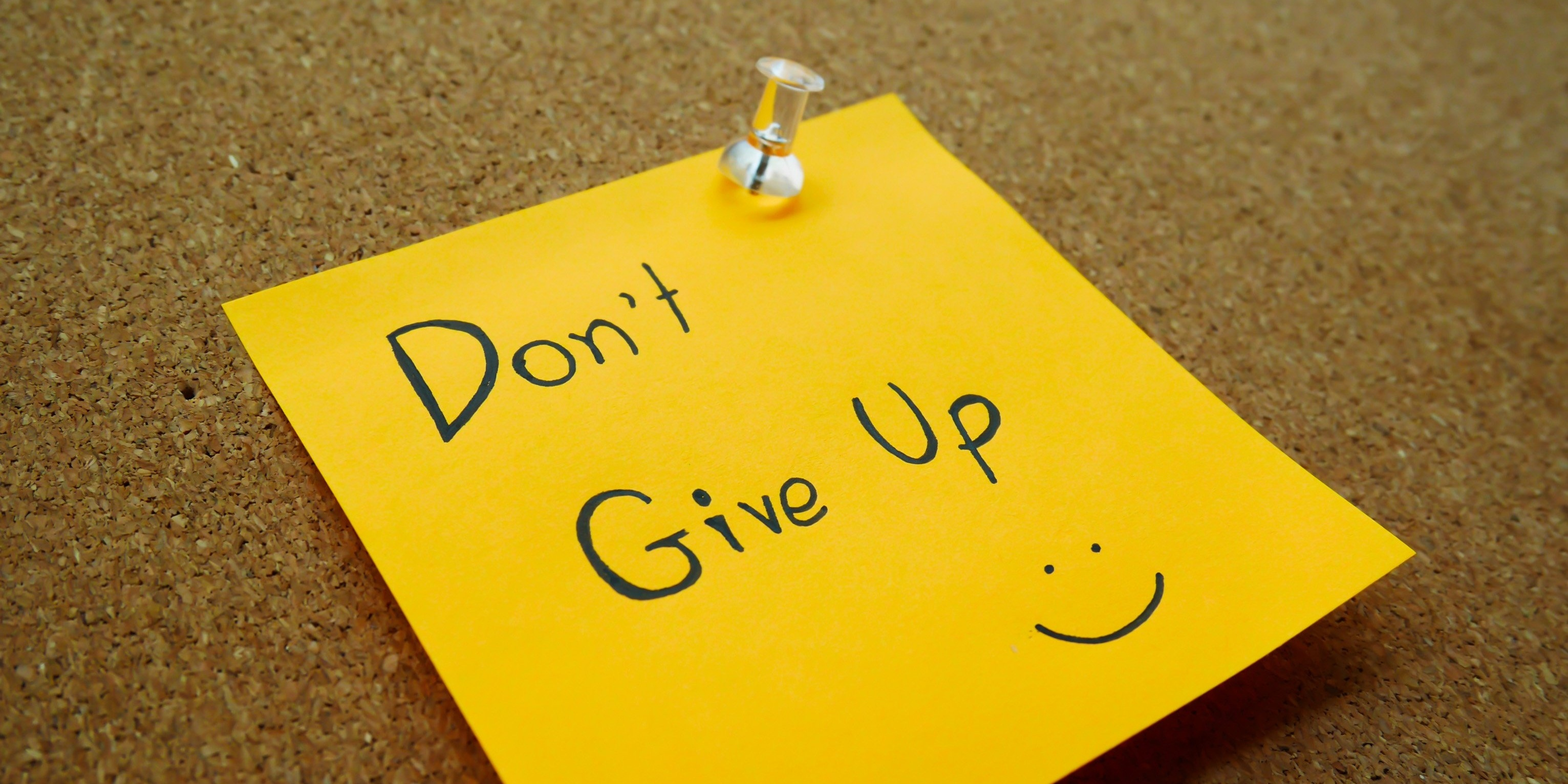 don't give up strategy for salespeople