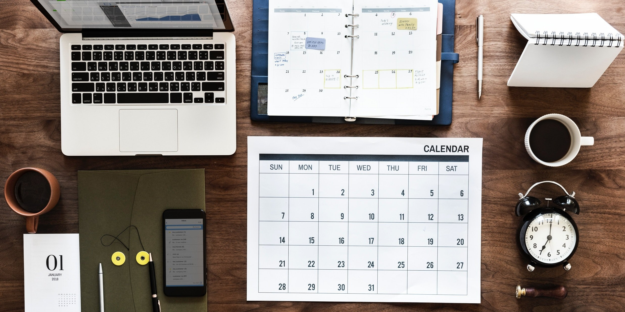 sales managers use calendar reminders for talent management
