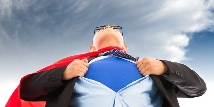 talent sales superhero
