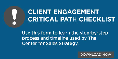 Client Engagement Critical Path Checklist